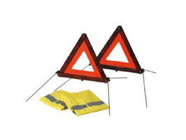 Warning Triangle Safety Kit
