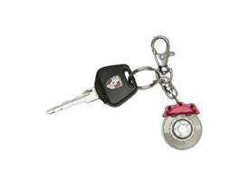 Key Ring 'Brake Disc'