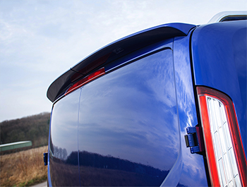PU Twin Door Rear Spoiler - Ford Transit Custom