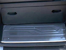 Ford Transit Custom 12> Stainless Steel Door Sill Protectors