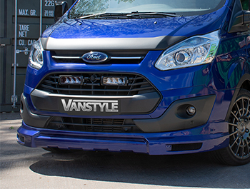VS Sport Front Splitter Ford Transit Custom 2012-2018