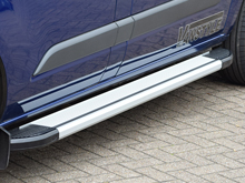 Aluminium Side Step Running Board Silver 04-15 & 2015>