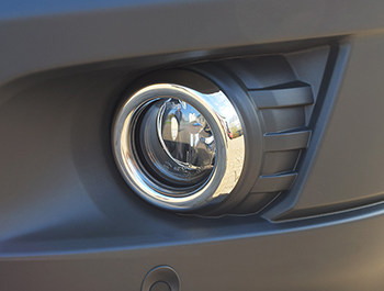 Ford Transit MK8 Stainless Steel Fog Light Rims 2014-2019