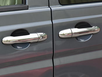 Door Handle Covers Stainless Steel Mercedes Vito 03>10 & 11>14