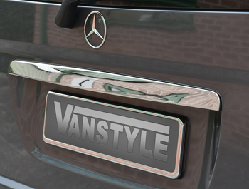 Grab Handle Cover (TAILGATE ONLY) - Stainless Steel Vito 03>14