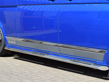 VW T5 / T6 Stainless Steel Chrome Side Streamer Trim