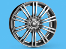 SR1200 Superlook 17x7.5 Wheel 5x108 Fiat Scudo 2007