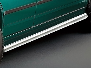 Cobra Polished Side Bars - VW T4 Transporter & Caravelle SWB