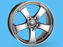 "Futura SUPERLOOK 20x9"" 5x120 VW T5 03-15 & T6 15>"