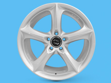 SR1000 Wheel 18x8 Silver Set of 4 - Vivaro Trafic Primastar