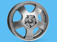 x4 Cargo Wheel 16x6.5 Superlook 5x130 Movano Master NV400