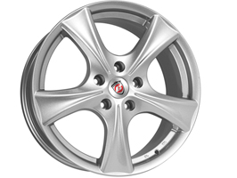 "Calibre Trek Alloy Wheel Set of 4 Silver 8x18"" 5x118 Vivaro"
