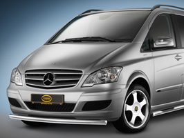 Mercedes Vito Front Cityguard Stainless Steel 2010>