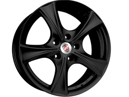 "Calibre Trek Alloy Wheel Set of 4 Black 8x18"" 5x118 Vivaro"