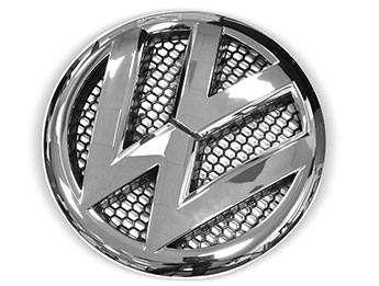 VW T5 Replacement Front Badge Chrome or Black 2010-15