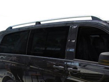 Mercedes Vito Aluminium Silver Roof Styling Bars 03-14>