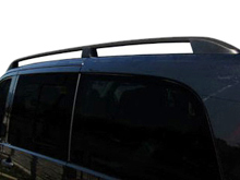 Mercedes Vito Aluminium Black Roof Styling Bars 03-14>