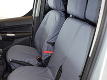 100% Waterproof Tailored Seat Covers Grey - Connect 14>