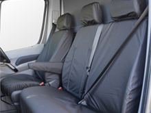 100% Waterproof Tailored Seat Covers Crafter / Sprinter 10>