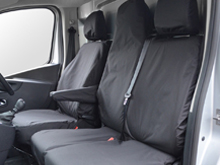 100% Waterproof Tailored Seat Covers Vivaro / Trafic 14>