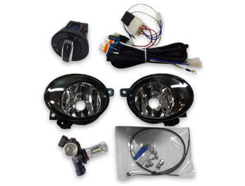 Fog Light Kit VW T5 2010-15 with LED Bulbs