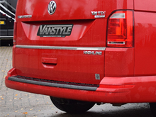 VW T6 2015> 1Pc. Stainless Steel Rear Grab Tailgate Trim
