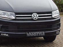 VW T6 Trend/Highline 2Pcs Stainless Front Grille Trim