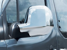 Chrome ABS Mirror Covers - Berlingo & Partner 2012+