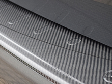 VW T6 Tailgate 15> Real Carbon Fibre Bumper Protector