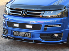 VW T5 10-15 Black Lower Front Splitter for Sportline Models