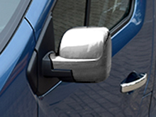 ABS Chrome Mirror Covers - Vivaro / Trafic / Talento / NV300