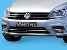 VW Caddy & Maxi 2015> 3Pcs Stainless Steel Radiator Trim