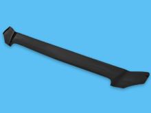 Mercedes Vito W639 2003-14 Black Bonnet Wind Deflector