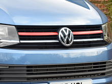 Red Edition Aluminium Front Upper Grille Trim