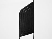 Real Carbon Fibre Fuel Flap Cover - VW T5 2003-15