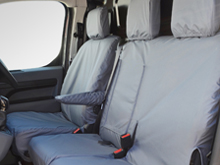 Waterproof Tailored Front Seat Covers - Dispatch/Expert/Proace