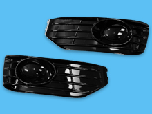 VW T5 10-15 Sportline Style Front Fog Pods (Pair)