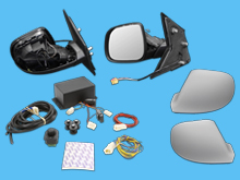 VW T5 2003-2015 Electric Power Folding Mirror Upgrade Kit