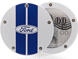 Tax Disc Holder, Twist Off Back - Ford (4 colours available)