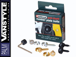 Anti-Theft Number Plate Bolts