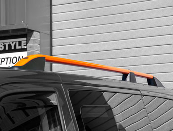Orange Edition Aluminium Roof Bars - SWB VW T5/T6