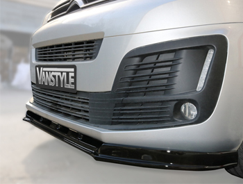 ABS Gloss Black Front Lower Splitter – Dispatch-Expert-Vivaro