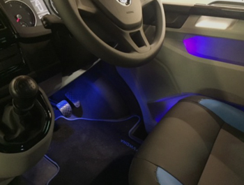 Genuine VW T6 - Interior LED Mood Lighting Kit