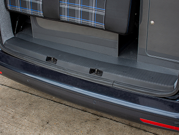 Full Length Wide ABS Rear Barn Door Threshold Cover - T5 T6
