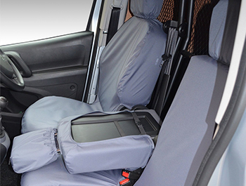 100% Waterproof Grey Seat Covers Berlingo/Partner/Combo 18>