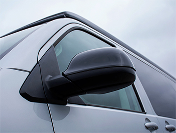 Gloss Black Wing Mirror Covers - VW T5 & T6 10-15> & Amarok 10>