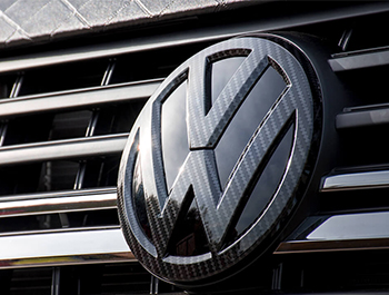 VW Replacement Front Carbon Fibre Effect Badge - VW T6 T6.1