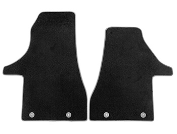 Genuine VW Premium Carpet Front Mats 2Pcs - VW T6.1 19>