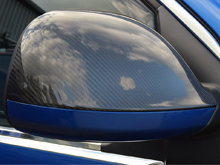 Mirror Covers Real Carbon Fibre VW T6 2015>