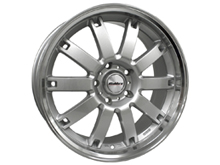"Calibre Boulevard Silver & Polished 20"" VW T5 T6 Alloy Wheels"